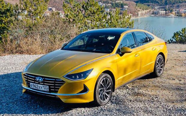 Блог Петра Меньших: Новая Hyundai Sonata доросла до Camry?