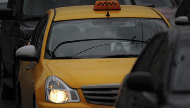 В Подмосковье ведется активная работа по организации точек дезинфекции для такси