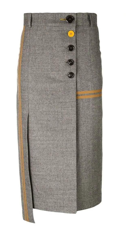 Креативная юбка-карандаш