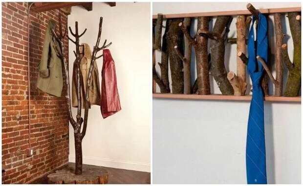 Идеи использования натурального дерева в интерьере