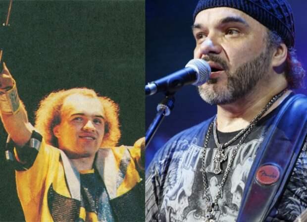 Отечественные рок-музыканты в молодости и теперь