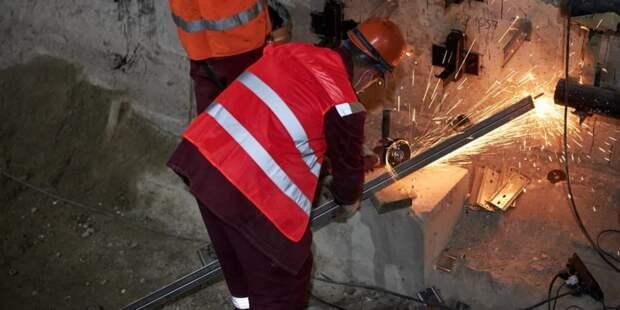 Собянин рассказал о ходе реконструкции станции метро «Каховская».Фото: М. Денисов mos.ru