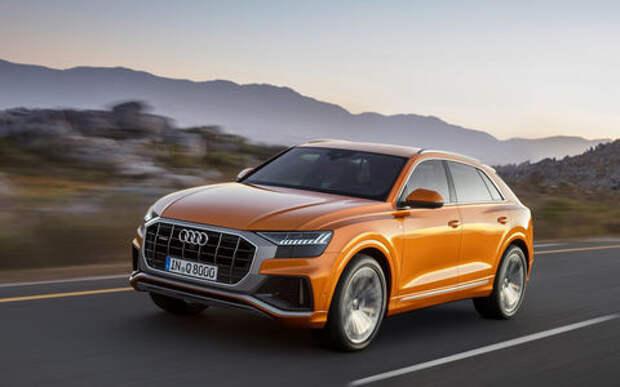 Audi объявила российские цены на «экономичный» Q8