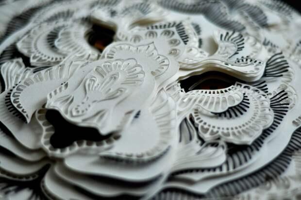 10 гениев, которые вырезают избумаги удивительные шедевры