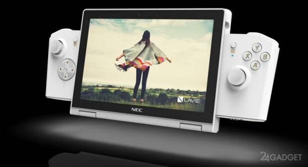 Lenovo презентовала концепт трансформируемого в игровую консоль ПК LAVIE MINI