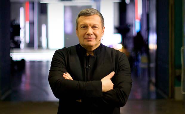 Соловьев иронично прокомментировал слова Зеленского о протестах в США