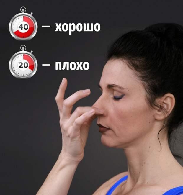 7 быстрых тестов, чтобы оценить здоровье вашего организма