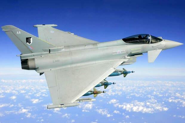ВО: наличие британских «Тайфунов» в Литве на руку российским летчикам
