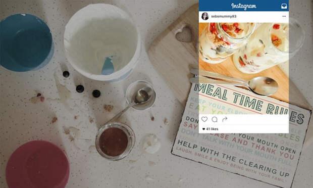 Суровая правда: Что находится за кадром идеальных снимков еды в Instagram