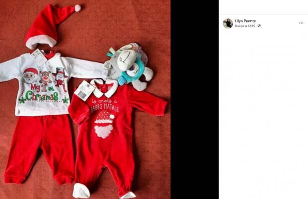 Жительница Новогиреева отдает в соцсетях костюмы Санты для младенцев