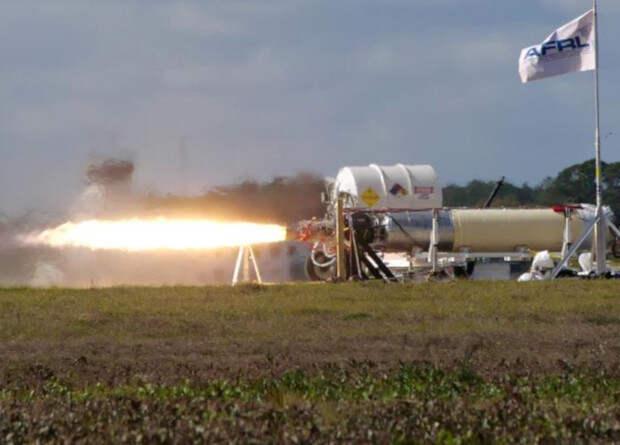 Американцы испытали двигатель ракеты для суборбитальных исследований