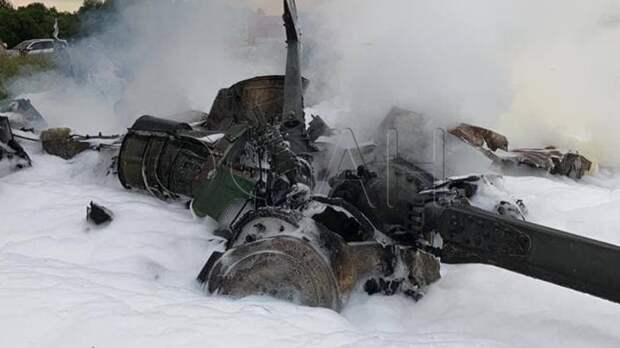 Экипаж упавшего вертолета Росгвардии выполнял тренировочные полеты над местностью