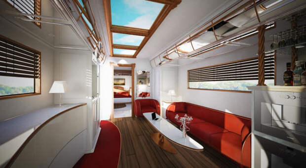 У Marchi Mobile EleMMent Palazzo действительно отличный дизайн.