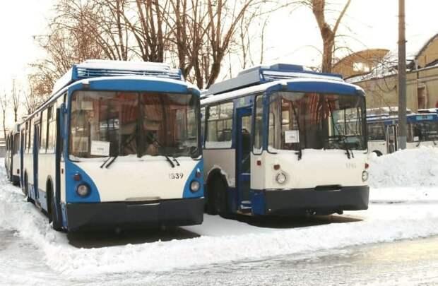 Петербург подарит троллейбусы Петрозаводску