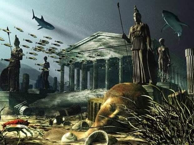 Очередные Псевдо-Атлантиды якобы обнаружили в Сахаре и Испании ...