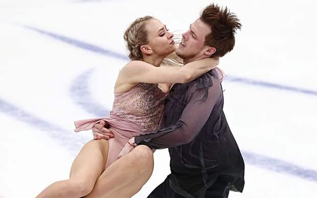 Победный произвольный танец Синициной и Кацалапова на командном чемпионате мира: видео