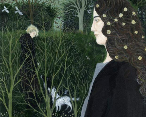 Ди Никерсон очень долго искала свой стиль. Он формировался под влиянием многих направлений в искусстве.