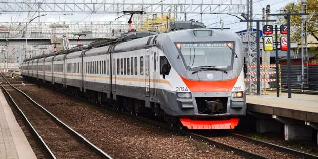 Собянин: Создание МЦД-4 является крупнейшей железнодорожной стройкой Москвы. Фото: Ю. Иванко, mos.ru