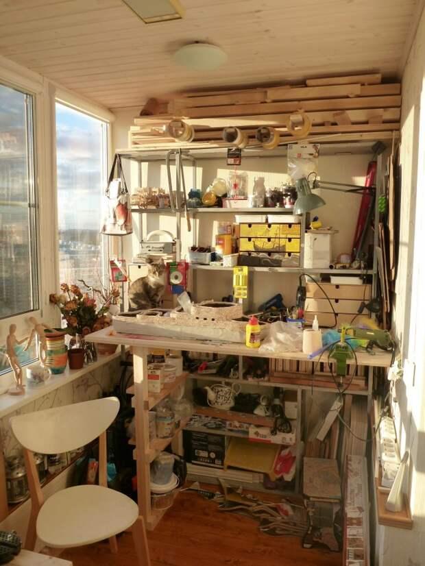 Мастерская на балконе (подборка)
