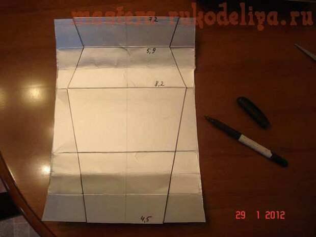 Ваза из тетрапаков: мастер-класс