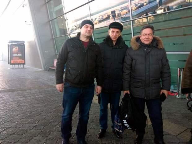 Платошкин, Сошин и Яшин в Казани