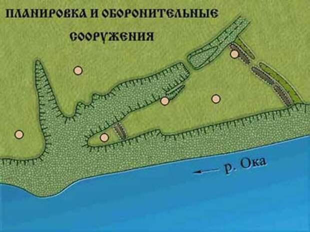 В Ростиславе Рязанском открыли средневековый ров