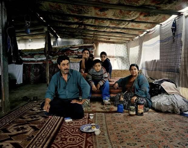 Цыганские кочевники в объективе датчанина