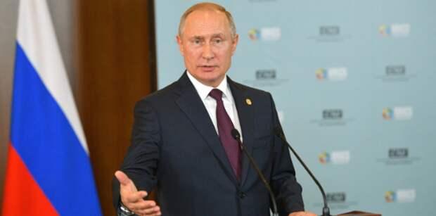 Путин – развитие общества требует нового осмысления Конституции