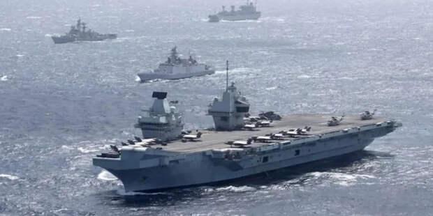 """""""Ждём с интересом и с сюрпризами"""". Как Китай готов встретить британскую авианосную эскадру."""