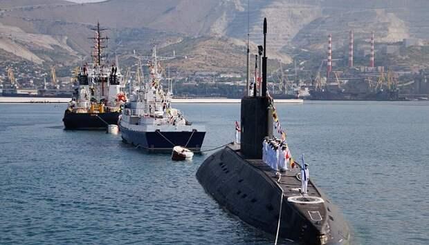 В Новороссийске в День ВМФ пройдет парад боевых кораблей