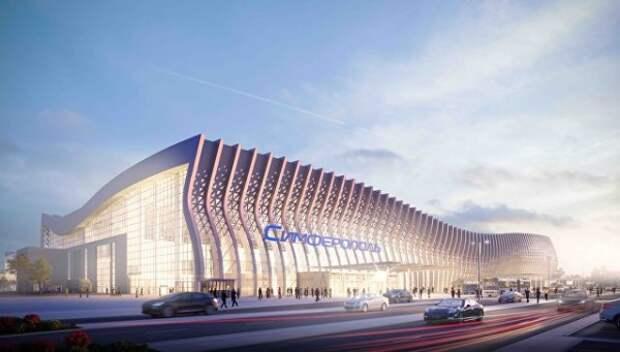 Аэропорт «Симферополь» «готовится к зиме»