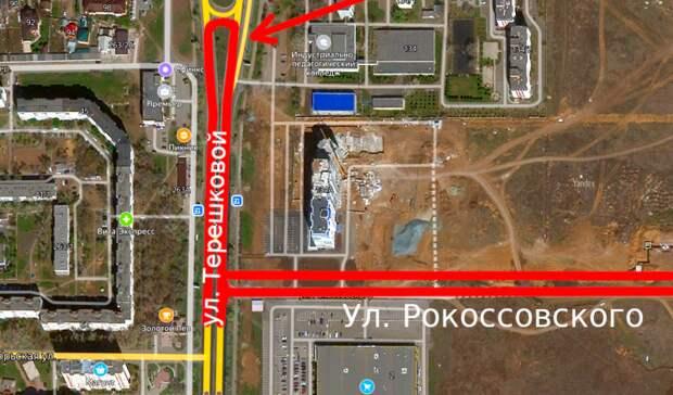Новую улицу и две круговые авторазвязки построят в Оренбурге за 300 млн. руб