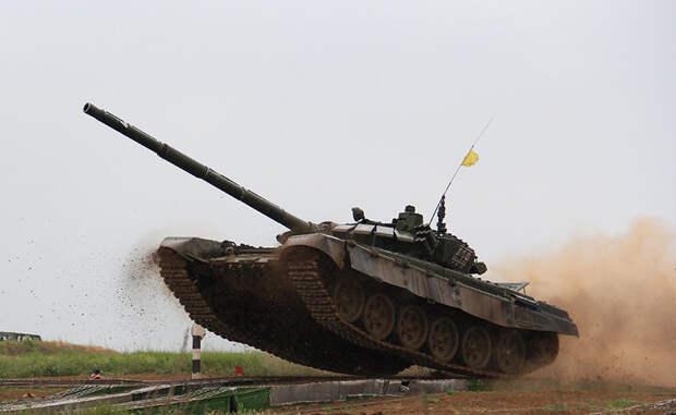 7 ударных танков российской армии