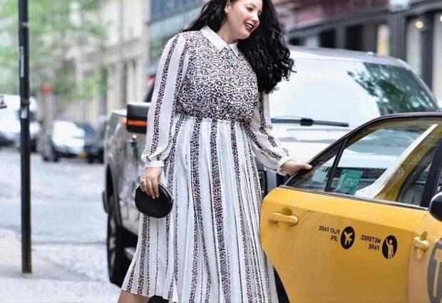 ТОП 8 модных деловых платьев на 2021, которые придают полным женщинам стройность