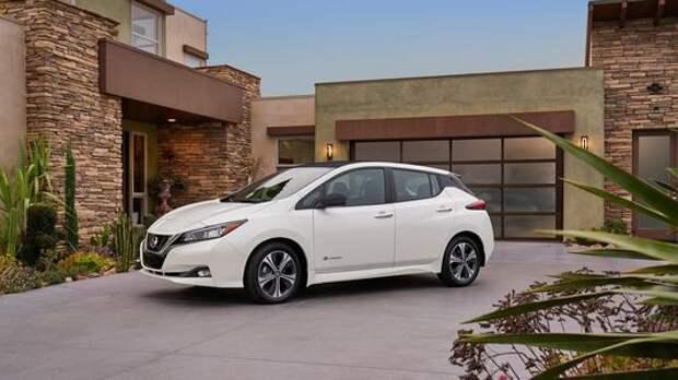 Nissan представил электромобиль для России
