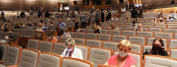 Московские федеральные театры по QR-коду смогут посетить больше 500 зрителей