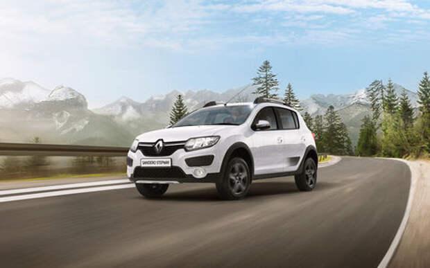 Renault Sandero Stepway получил в России спецверсию