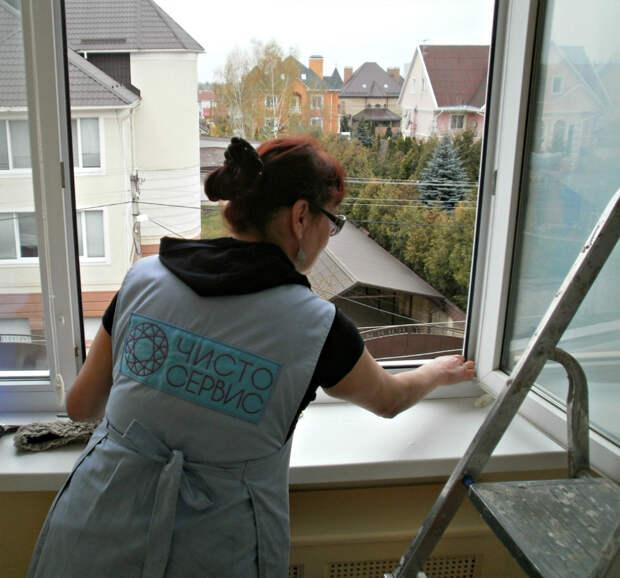 Как помыть окна без разводов