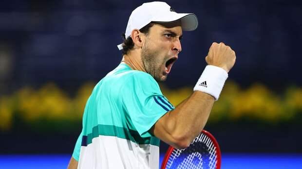 «Счастлив, что смог справиться с этим финалом». Карацев — о первой победе на турнире ATP