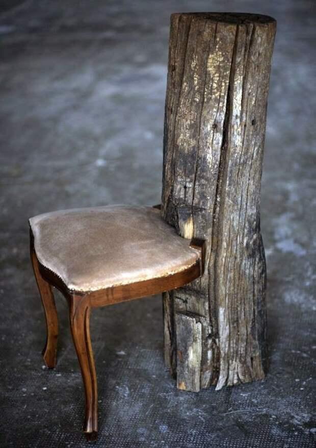 Мебель из мусора