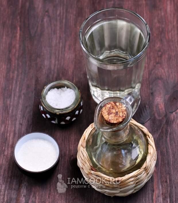 Ингредиенты для иранского хлеба Тафтан (тафтун)