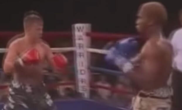 Русский спецназовец вышел на ринг против огромного ММА-американца