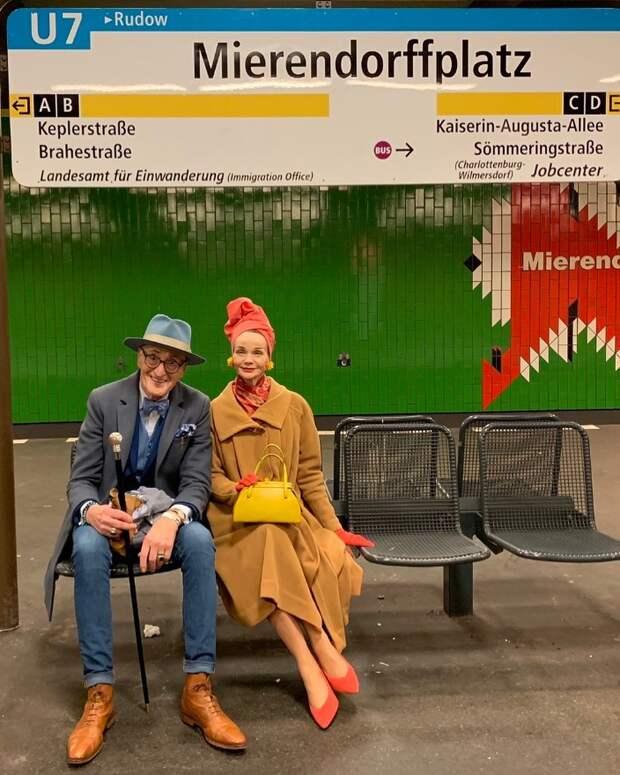 Эта пожилая пара из Берлина — заядлые модники