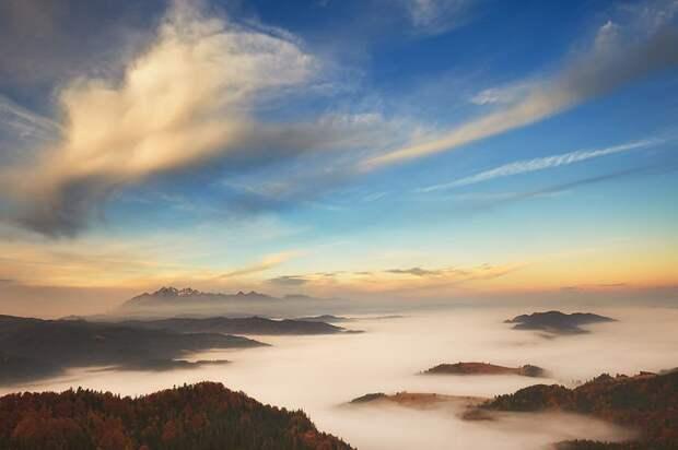 Красивые горные пейзажи и просто классные фотографии