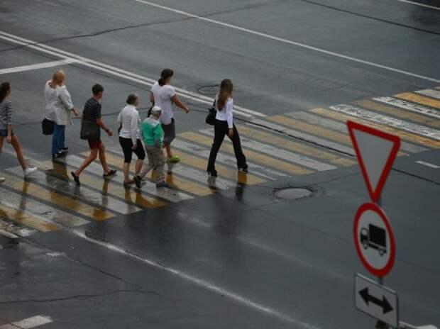 Штрафы для пешеходов просят повысить в два раза