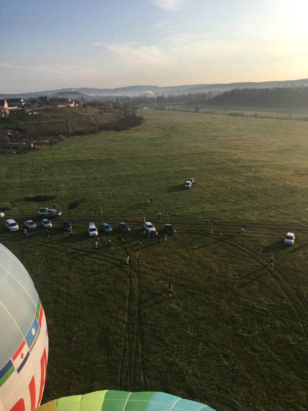В Белогорске проходят соревнования на воздушных шарах. ФОТО