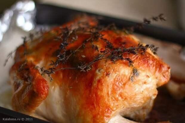Ооо, эта курица. Признаться, когда в первый раз ее готовила, такого результата никак не ожидала