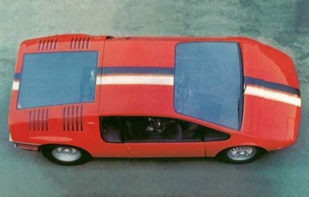 Таким он прибыл из Японии в США. Bizzarrini Manta, Джорджетто Джуджаро, авто, автодизайн, автомобили, аэродинамика, дизайнер