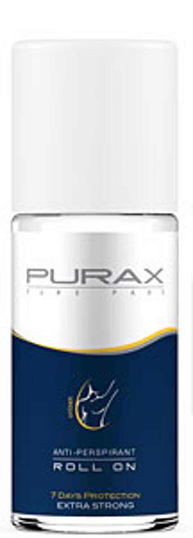 PURAX – решит проблему повышенного потовыделения (мокрых подмышек, влажных ладошек и ступней, гиперг