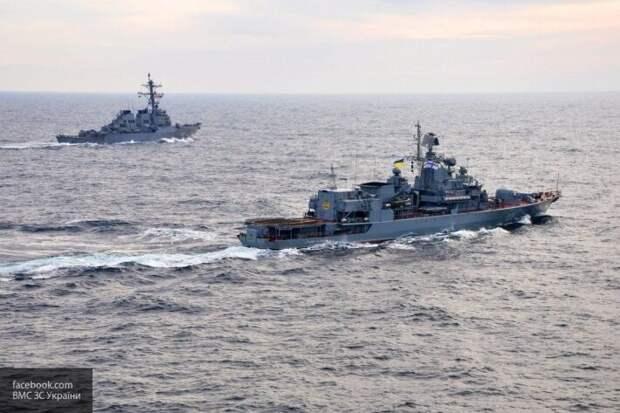 ВМС Украины впервые за несколько лет провели учения со стрельбами в Черном море